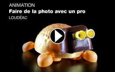 AVRIL 2018 -ANIMATION FAIRE DE LA PHOTO AVEC UN PRO – LOUDÉAC