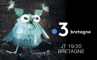 SEPTEMBRE 2018 – VIDÉO SUR L'EDITION JEUNESSE RÉALISÉE PAR FRANCE 3 BRETAGNE