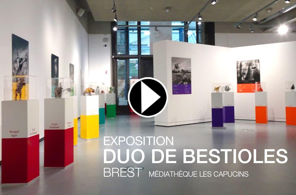 AOÛT 2017 – DUO de bestioles – MÉDIATHÈQUE LES CAPUCINS – BREST