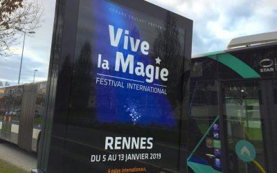 DÉCEMBRE 2018 – NOUVEAU LOGO POUR LE FESTIVAL INTERNATIONAL DE MAGIE