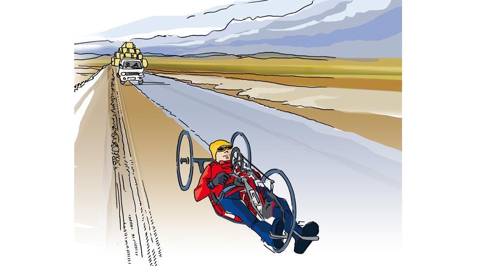 illustration sportif sponsorisé par le groupe Agrial