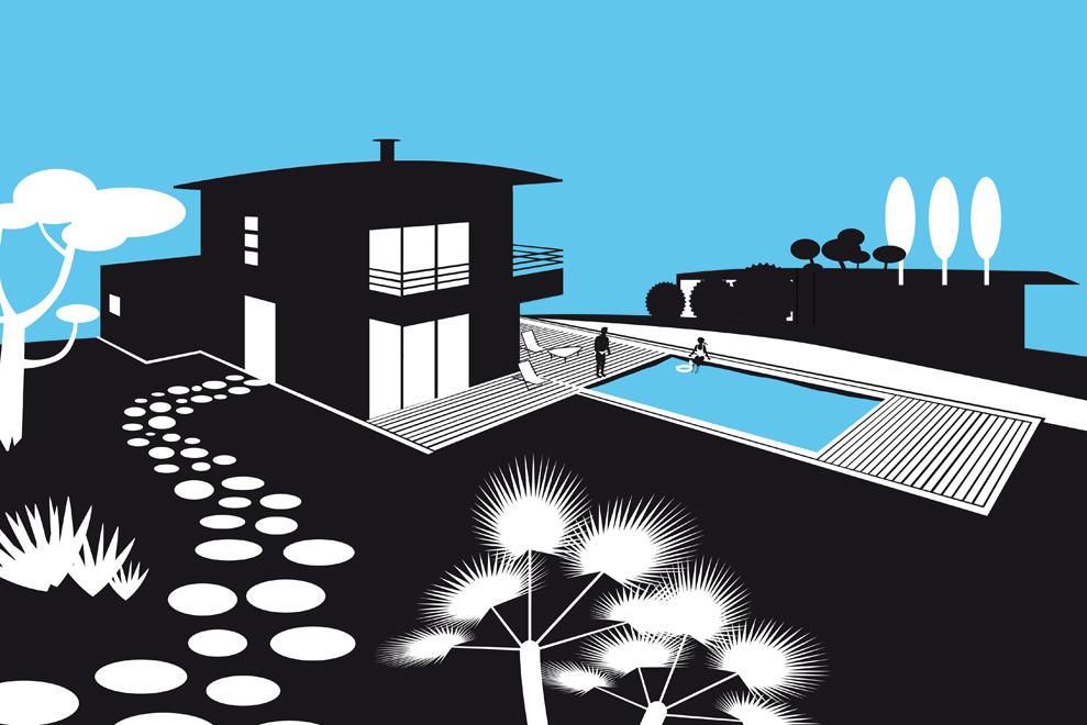illustration swim n'spa