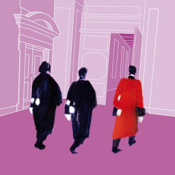 illustration intérieure du parlement de Bretagne cour d' Appel de Rennes