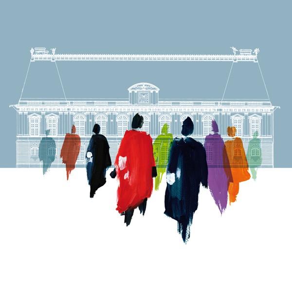 illustration avocats juges Cour d'appel de Rennes Parlement de Bretagne
