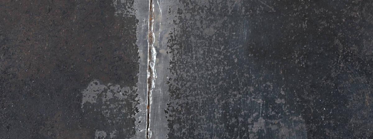 photo cour d'appel de Rennes panoramique. travail sur plaque d'acier , gravure et soudure