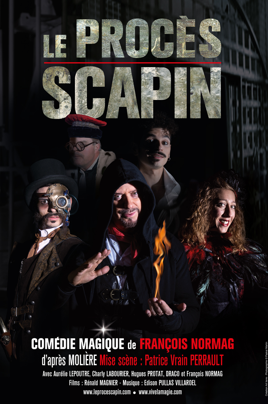 visuel affiche scapin