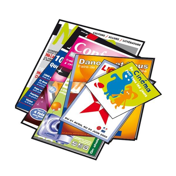 illustration magazines, journaux Rennes Métropole. Tri des déchets.
