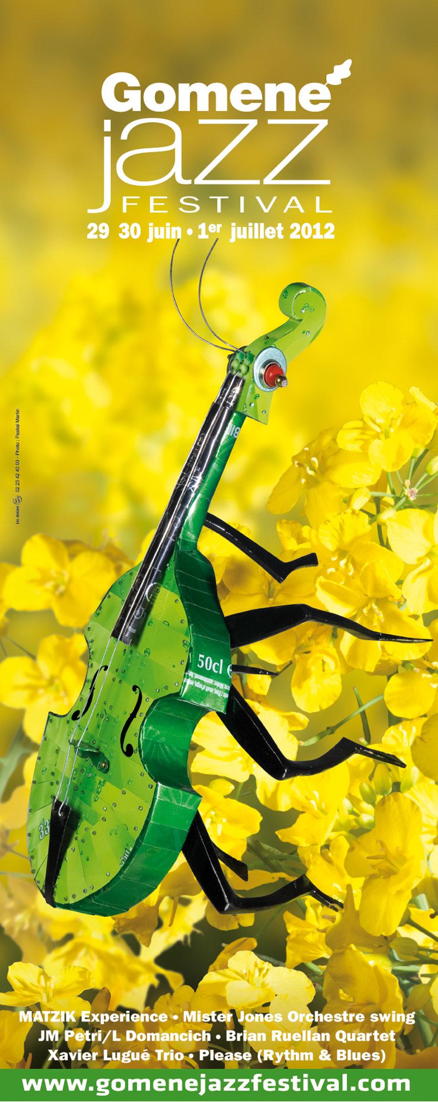 affiche Gomené 2012 sculpteur Alain Burban photo Paskal Martin